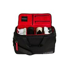 SNEAKER BAG - Premium Travel & Gym Duffle with 3 adjustable dividers (red/black)