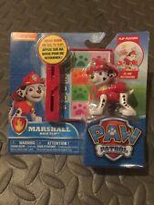 BRAND NEW!!  Paw Patrol Marshall Back Flip Nickelodeon Red Dog