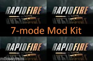 7-Mode, Rapid Fire Stealth Mod Kit for Xbox One Controller, 1537 1697 1708