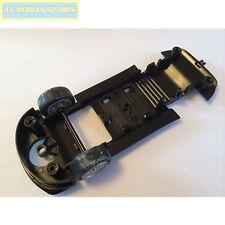 W10287 Scalextric RICAMBIO underpan & Argento Ruote Anteriori Porsche 997