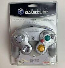 Original Silver Gray Platinum Nintendo GameCube Controller - Brand New - RARE
