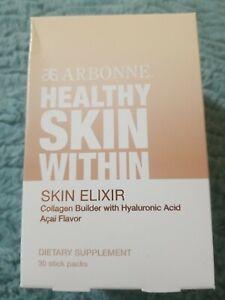 ARBONNE Healthy Skin Within   30 NEW STICKS   Collagen Builder  Exp 02/22