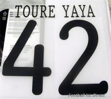Manchester City YaYa Toure Uefa Champions League 11/12 Football Shirt Name Set
