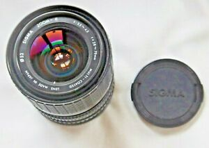 Sigma 28-70mm F3.5-4.5 MC Manual Focus Zoom Lens For Canon FD fit Film Camera's