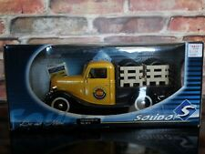Solido 1936 Ford Plateau Dunlop Tire Delivery Truck 1:18 Scale Diecast Model