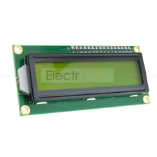 HD44780 Controller Yellow Blacklight 1602 162 16x2 LCD Display Character Module