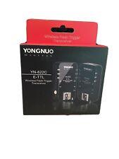 Yongnuo YN-622C Wireless ETTL Flash Trigger - 2 Pcs - For Canon flash