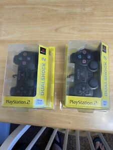 2 playstation 2 controllers new