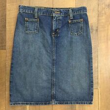 POLO JEANS RALPH LAUREN Denim Skirt 2 Pockets Great Looking Women's Size 4