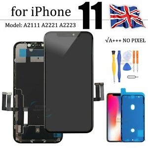 For Apple iPhone 11 Replacement Retina LCD Touch Screen Digitizer Display Black
