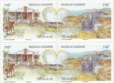 4 TIMBRES nouvelle-calédonie 110 francs 120 ans de VOH neufs