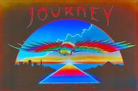 JOURNEY / STEVE PERRY 1980 DEPARTURE TOUR OAKLAND STADIUM 1st PRINTING POSTER