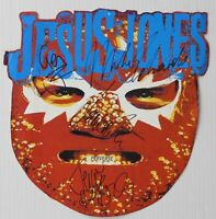 Jesus Jones JSA Signed Autograph Promo Poster Fully Signed Flat