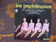EP Les Parisiennes Et Claude Bolling – Le Temps Du Lumbago  Philips  437.365 BE