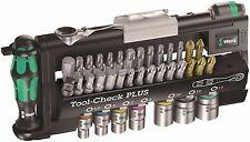 Wera Tool-Check Plus 39 Piece Bits Assortment With Ratchet Metric 05056490001