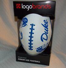 Logo Brands Officially Licensed Duke Blue Devils Junior Size Football Blue/White