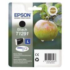 Epson Genuine Black Ink Cartridge for Stylus Sx435w T1291