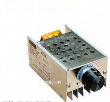 4000W SCR Voltage Regulator Speed Controller Dimmer Thermostat 110V 220V new