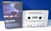Night Ranger Dawn Patrol 10 track 1982 CASSETTE TAPE Boardwalk Records Inc label