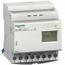 Compteur d'énergie triphasé ME4 63A Schneider 17070