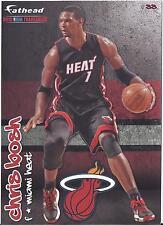 "2012 NBA NEW Fathead Tradeables Chris Bosh Miami Heat 5"" x 7"" decal #33"