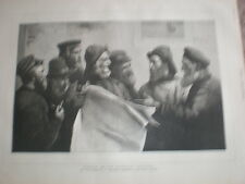 Fishermen debate the fisheries question from W Llewellyn1890 old print
