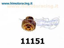 11151 PIGNONE 21 DENTI METALLO MODELLI ELETTRICI MODULO 0.6 MOTOR GEAR HIMOTO
