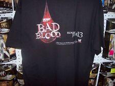 Official WWE Crew Member Tee Shirt Bad Blood 2004  Sz L