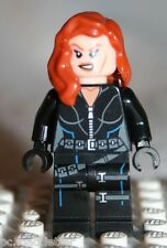 Lego BLACK WIDOW MINIFIGURE from Super Heroes Quinjet Aerial Battle (6869)