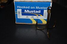 ONE Mustad 3551 Size 14/0 Bronze BIG Treble Hooks - Snagging Bridge Gaffs Gators