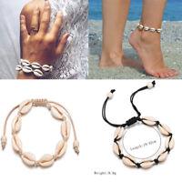 Summer Beach Sea Shell Bracelet Women Jewelry Ankle Bracelets Foot  Chain D6