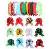 12 Pcs Pull Bow Gift Ribbons Flower Wrappers for Wedding Christmas Gifts Decor