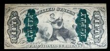 Third Issue 50 Cents Fractional Currency Green Back