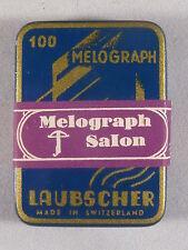 Grammophon Nadel-Dose, Laubscher Melograph Salon, Art Deco, OVP mit Banderole