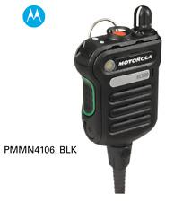 Motorola - Pmmn4106 BLK Xe500 Black Extreme Remote Speaker