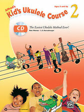 """""""ALFRED'S KID UKULELE COURSE 2"""" MUSIC BOOK W/CD BRAND NEW 48 SONGS ON SALE!!"""