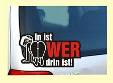 In ist ... Auto Aufkleber Sexy Sex Sticker Tuning OEM DUB Stickerbomb Bombing