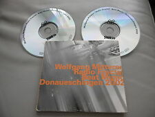 WOLFGANG MITTERER : RADIO FRACTAL / BEAT MUSIC DIGIPAK 2 CD ALBUM SWR HAT HUT