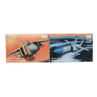 MiniHobbyModels 1:144 2PCS Aircraft Fighter Model MIG-25P MiG-23 Assemble Kit