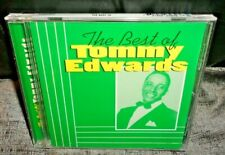 The Best Of Tommy Edwards (CD, 1997) NEW & SEALED
