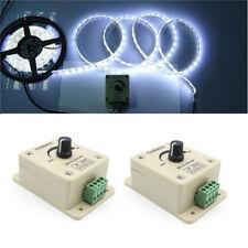 12V-24V 8A Manual Dimmer Switch Adjustable Controller For 3528 5050 LED Strip UK