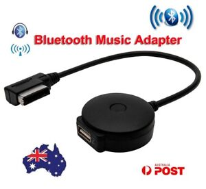 Car Stereo Aux Audio Bluetooth Music Interface Adaptor Cable For VW Audi AMI MDI
