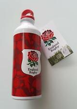 Official England drinks R.F.U. RFU Rugby Aluminium Drinking Water Bottle BNIB