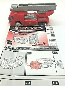 Transformers Robots in Disguise OPTIMUS PRIME  2001 SpyChangers RID 80639