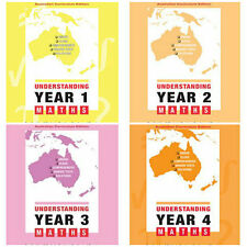 Understanding Maths: Years 1-4: Australian Curriculum Edition ( 4 BOOKS)