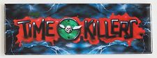 Time Killers Marquee FRIDGE MAGNET (1.5 x 4.5 inches) arcade video game header
