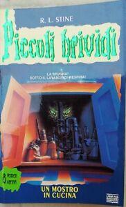 Piccoli Brividi n. 30 Un mostro in cucina seconda edizione 1997 con adesivi