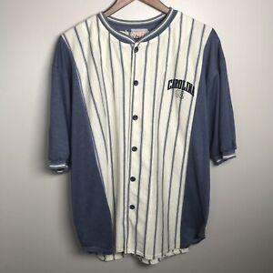 Vintage UNC North Carolina Tar Heels Baseball Shirt Made In USA Over wear