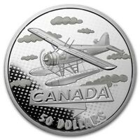 2021 RCM Silver $50 100 Yrs of Confederation: Canada Takes Wing - SKU#231362
