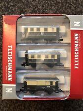 fleischmann n gauge coaches